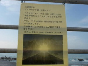 【日況】'15,4,6(月) 大磯周辺釣り状況