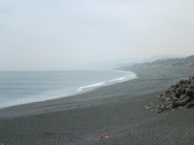 A.M.10:00頃の大磯海岸です。
