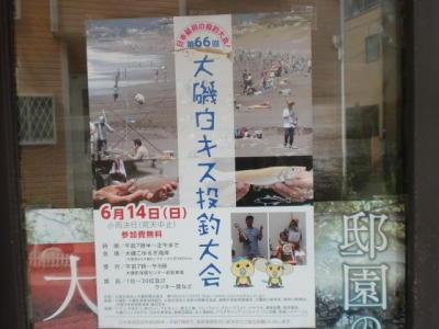 画像: 大磯白キス投釣大会のポスター