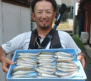 釣り場案内 大磯海岸3 中学下にお客様の釣果情報新掲載!